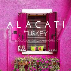 Alacati, Undiscovered beauty of Western Turkey by Grand Bazaar Shopping. Cosy Mediterranean town is perfect for honeymoons, couple trips, great alternative to Greek Islands.