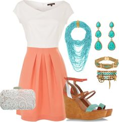 College Graduation outfit!! My two favorite colors!!!