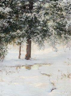 The hemlocks - Walter Launt Palmer