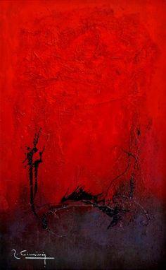 R.Cimbrón, Rojo Pasión on ArtStack #r-cimbron #art