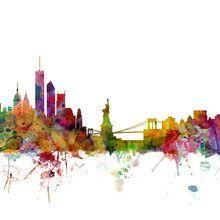 Wall mural - New York Skyline