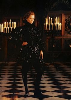 Tilda Swinton in the title role of Orlando (1992).
