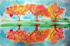 autumn reflexion 4e-5e année
