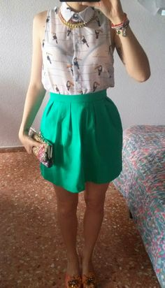 Lorena Carreres: Outfit tucán