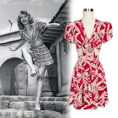 Love Vera Ellen's look? Get it with the Cactus Rouge Carole Tie Top and Classic Skirt! #trashydivacactusrouge #trashydivacaroletietop #trashydivaclassicskirt