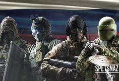 Rainbow Six: Siege w złocie - ostatnie wideo prezentuje możliwości Spetsnazu