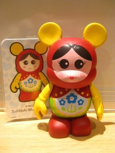 Disney Vinylmation - Cutesters Series 1 (One) - Nested Doll