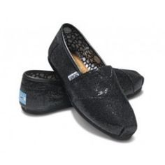 $29.39!! Toms Glitter For Women Black Breathable