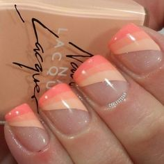 French nails beige