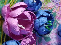 Двор-декор. Рукоделие и творчество: Мастер класс: цветы из бумаги для акварели