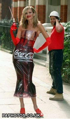 Coca Cola dress... DO YOU SEE WHAT I SEE!!
