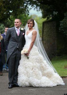Jess Ennis' Wedding #wedding #beautiful #dress