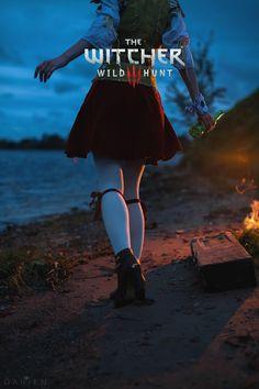 The Witcher 3 Witcher 3 Triss, The Witcher 1, The Witcher Books, Witcher Art, Witcher 3 Wild Hunt, Ciri, Playstation, Sword Of Destiny, Video Games Girls