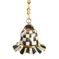MacKenzie-Childs - Courtly Check Pendant Lamp - Small