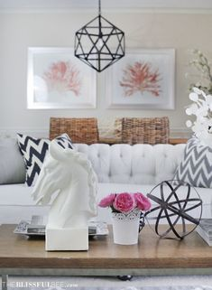 Formal Living Room | The Blissful Bee