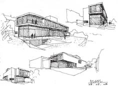 Modern Architecture Sketches modern architecture sketches - google search | sketching