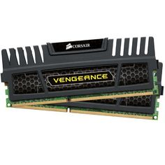 Corsair CMZ8GX3M2A1600C9 Vengeance 8 GB (2 x 4 GB) DDR3 1600 MHz CL9 XMP Performance Desktop Memory Kit - Black