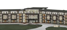 Peterson Landing New Apartments for rent in Kamloops on Summit Drive, Sahali Apartments, Landing, Multi Story Building, Group, Penthouses, Flats