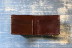 Mens Wallet Mens Leather Wallet Bifold Wallet Billfold by TAGSMITH