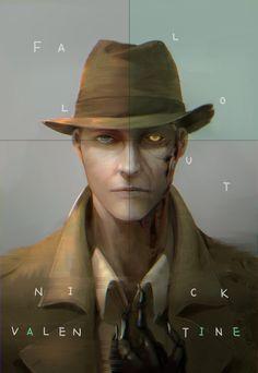 Nick Valentine - Fallout 4