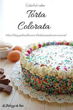 Torte Cake, Biscotti, Drip Cakes, Pretty Cakes, Yummy Cakes, Vanilla Cake, Cupcake Cakes, Cake Decorating, Bakery