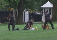 Pikachu Clad Dude Wandered On To White House Lawn On 9/11