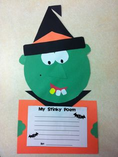 Today in Second Grade: Halloween Craftivity