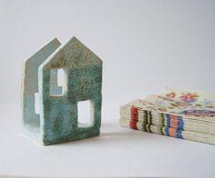 Napkin Holder-Tin House Sponge Holder-Ceramics And by Vsocks