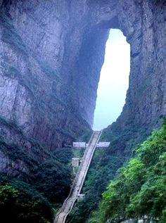 China? Just don't make me climb them