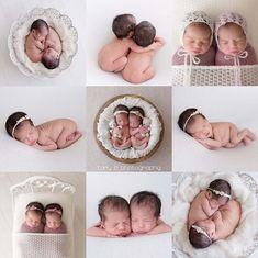 Best Indoor Garden Ideas for 2020 - Modern Newborn Twin Photos, Foto Newborn, Newborn Pictures, Twin Newborn, Newborn Girls, Newborn Session, Twin Girls Photography, Newborn Photography Poses, Family Photography