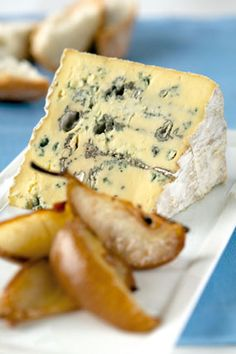 Blue cheese and butter pears