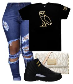 """Ovo hoe"" by zayani on Polyvore featuring October's Very Own, MICHAEL Michael Kors and NIKE"