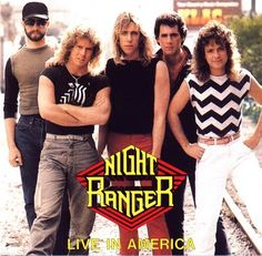 ''Sister Christian'' by Night Ranger HQ Music Album Covers, Music Albums, Rock & Pop, Rock N Roll, Sound Of Music, Live Music, Steve Gaines, Hair Metal Bands, Hair Bands