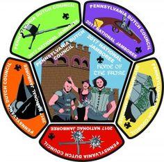 2017 bsa jamboree patch images   ... Dutch Council 2017 Jamboree Patches   PA Dutch Council BSA Boy Scout Patches, Pennsylvania Dutch, Eagle Scout, Cub Scouts, Cubs, Scouting, Full Set, Badges, Knots