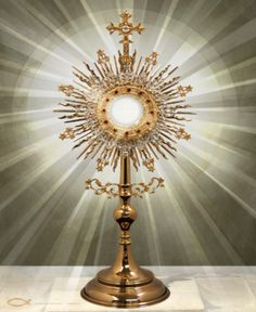 Image result for eucharist monstrance