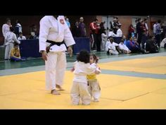 Adorable Judo Fight Between Two Little Girls - #cute #judo #girls #adorable #fight