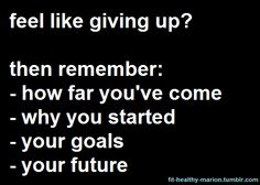 Never give up    Gilbert Fitness Bootcamps  www.theteamfitexperience.com