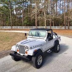 eBay: 1982 Jeep CJ Scrambler 1982 Jeep CJ-8 Scrambler #jeep #jeeplife