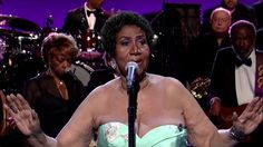 "Aretha Franklin Sings ""Rolling In The Deep (The Aretha Version)"" on ""The Late Show With David Letterman"" #ArethaSings"