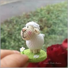 Fresh off my hook... yes one more   (the pattern is on my blog) by doubletrebletrinkets