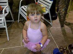 #perfect #summer #swimsuit for a #little #girl #ballerina :)