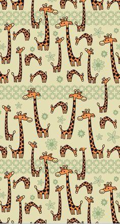Funny Giraffe, Giraffe Art, Cute Giraffe, Iphone 5 Wallpaper, Whatsapp Wallpaper, Wallpaper Backgrounds, Aztec Wallpaper, Pink Wallpaper, Screen Wallpaper