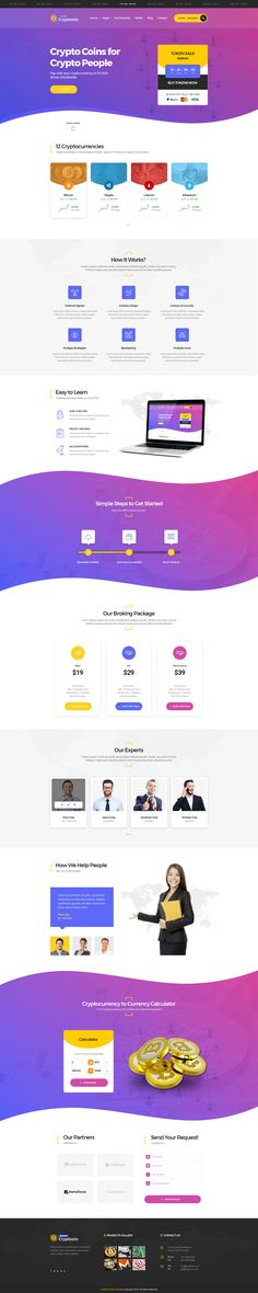 Cryptonic – Cryptocurrency PSD template Cryptonic – Cryptocurrency PSD Template is our new PSD template created for bitcoin mining websites, crypto currency exchange and trading, digital currenci... #webdesign #bitcoin