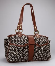 Mia Bossi Toffee Caryn Diaper Bag.  I want it just for a purse, so chic!