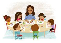Cartoon People, Cartoon Kids, Jesus Cartoon, Kindergarten Portfolio, School Frame, 1st Day Of School, School Posters, Childhood Education, Character Illustration