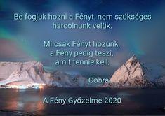 Magyar Cobra Tükör-oldal: Békemeditáció