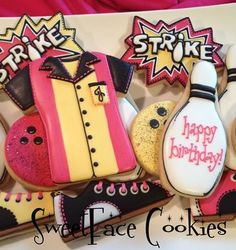 Bowling Cookies