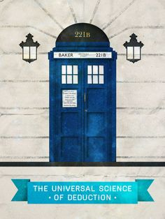 Universal science of deduction(Doctor Who & Sherlock)