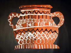 greek vases, cutting a symmetrical shape. Plus printing techniques.