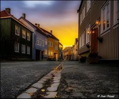 Bakklandet – the Old City of Trondheim Trondheim, Old City, Street Photography, Old Things, Old Town